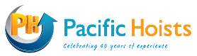 Alpha Rigging supplier logo for Pacific Hoists